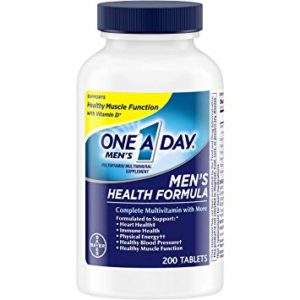 Best Budget: One A Day Men's Health Formula Multivitamin, 200 Count