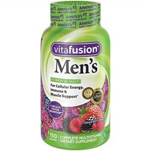 Best Men's Chewable Vitamin: Vitafusion Men's Gummy Vitamins, 150 Count