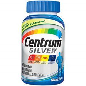 Best for Men Over 50: Centrum Silver Men (200 Count) Multivitamin