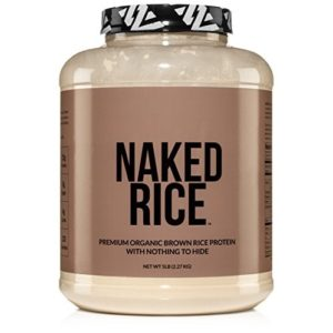 Dark Rice Protein: NAKED RICE - Organic Brown Rice Protein Powder