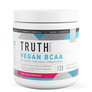 For Vegetarians: Truth Nutrition Naturally Fermented BCAA 2:1:1 Powder