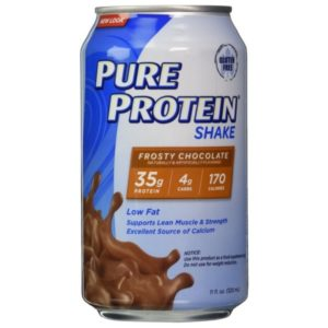 For gym people: Pure Protein Shake
