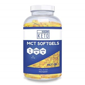 Good Capsules: Kiss My Keto MCT Softgels