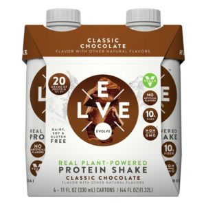 Good Choice for Average People: Evolve Real Plant-Powered Protein Shake