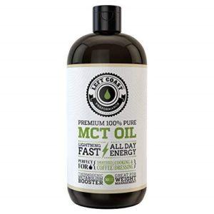 Good for treatment: Left Coast Performance Premium Coconut MCT Oil