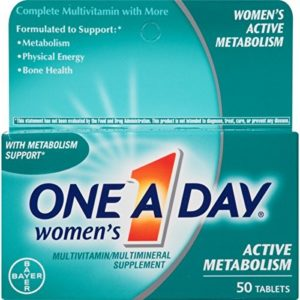 Make Your Metabolism Better: One A Day Women's Active Metabolism Multivitamin