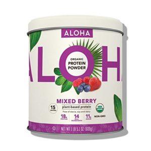 Non Stevia: ALOHA Organic Plant Based Protein Powder