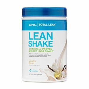 Not much calories: GNC Total Lean Shake