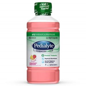 Good stuff with Prebiotics: Pedialyte AdvancedCare Electrolyte Solution