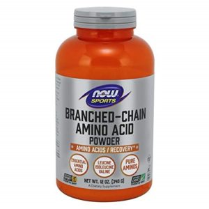 Standard taste: Pure BCAA: NOW Sports Branched Chain Amino Acid Powder