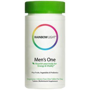 Top Choice: Rainbow Light Men's One Multivitamin (150 Tablets)