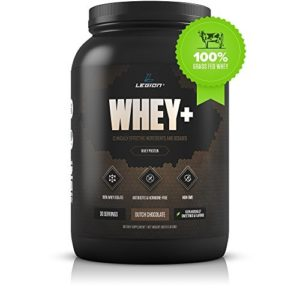Top Choice for Trainings: Legion Whey+ Protein Powder