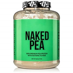 Vegans Choice: Naked Nutrition Pea Protein Isolate